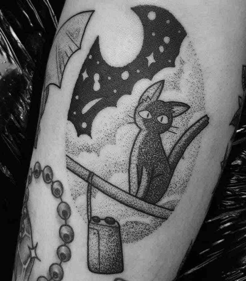 Kikis Delivery Service Tattoo by Jess Oxley