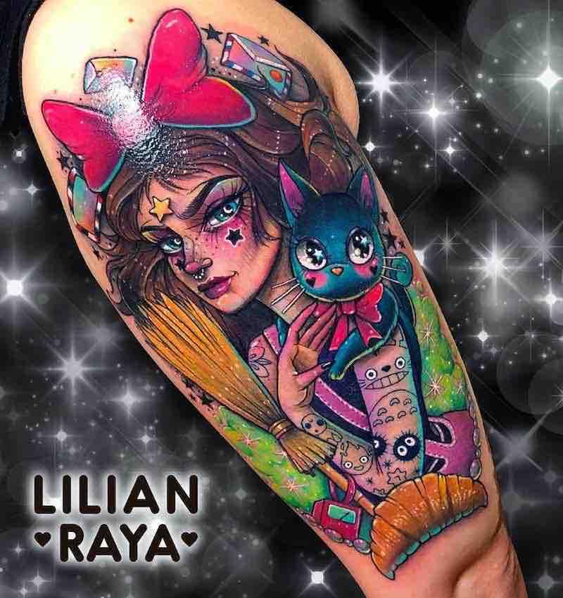 Kikis Delivery Service Tattoo by Lilian Raya
