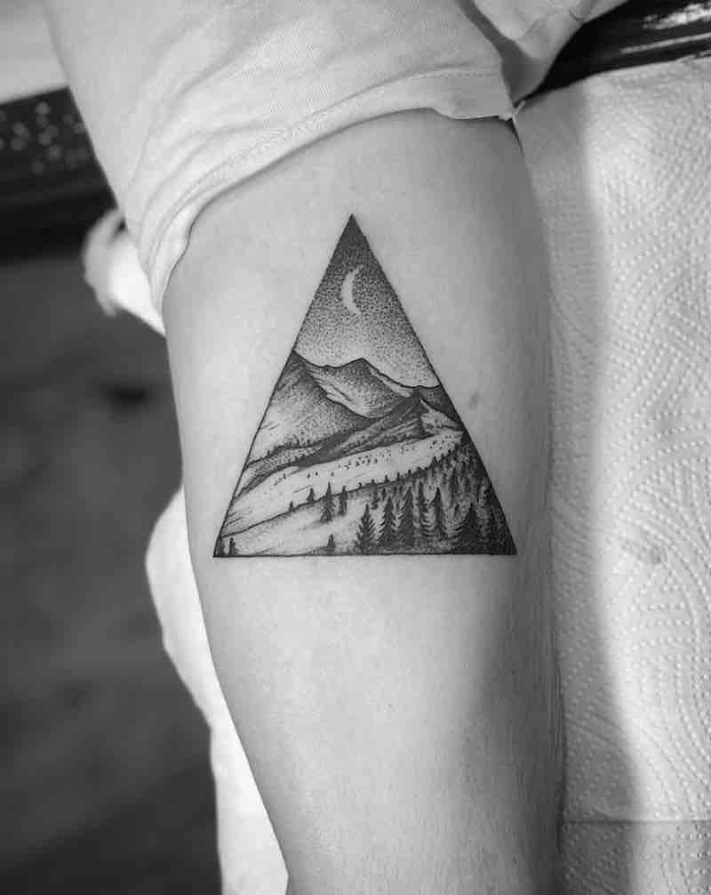 Landscape Tattoo by Tom Tom Tatt