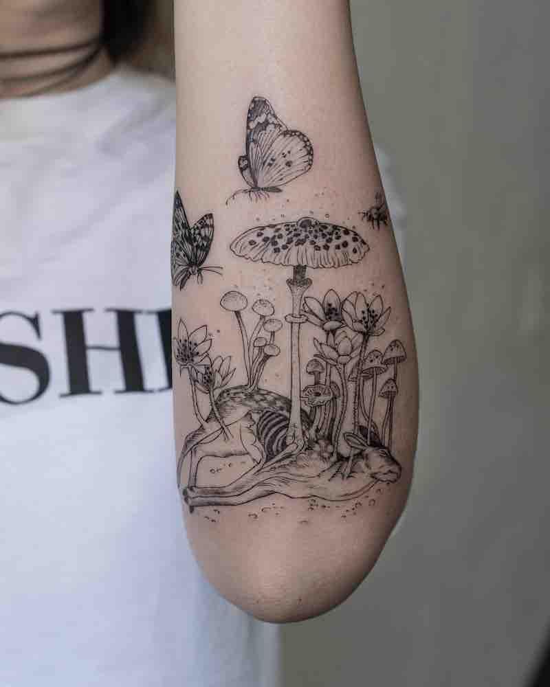 Mushroom Tattoo 3 by OOZY