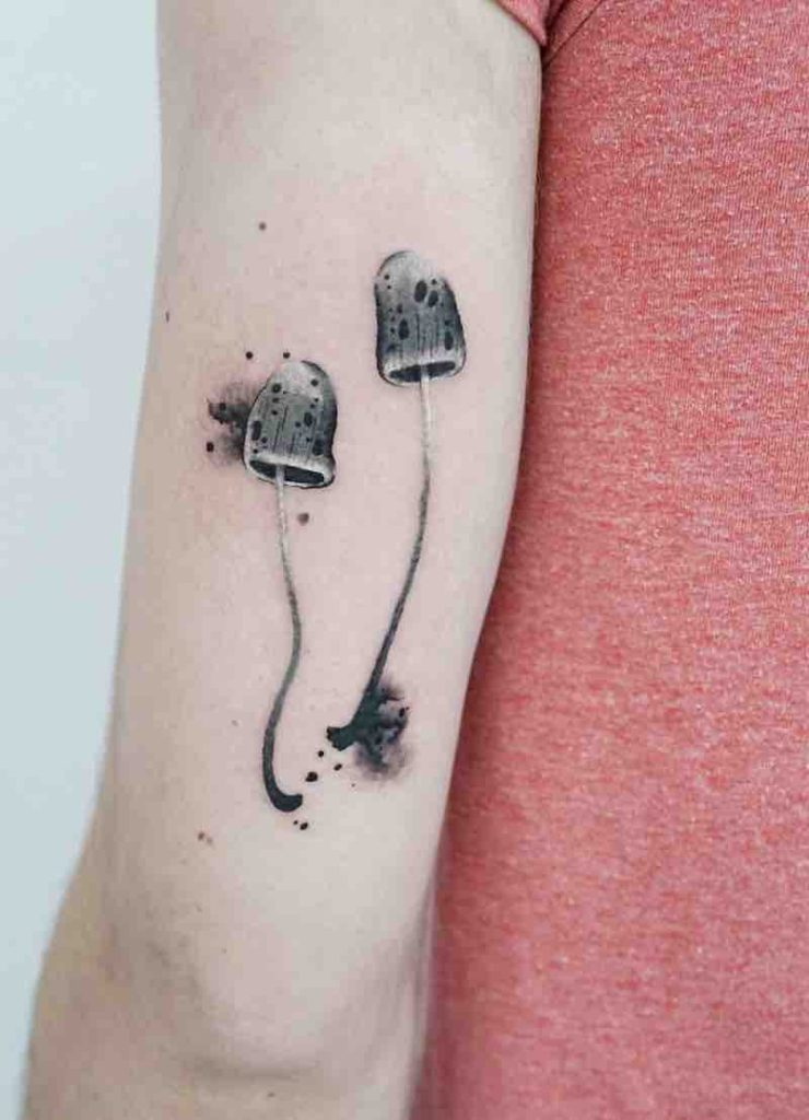 Mushroom Tattoo by Picsola