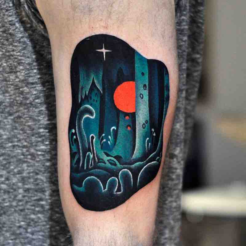 Nausicaa Tattoo by David Peyote