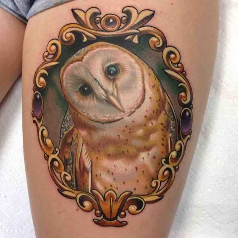 Owl Tattoo by Paul Marino