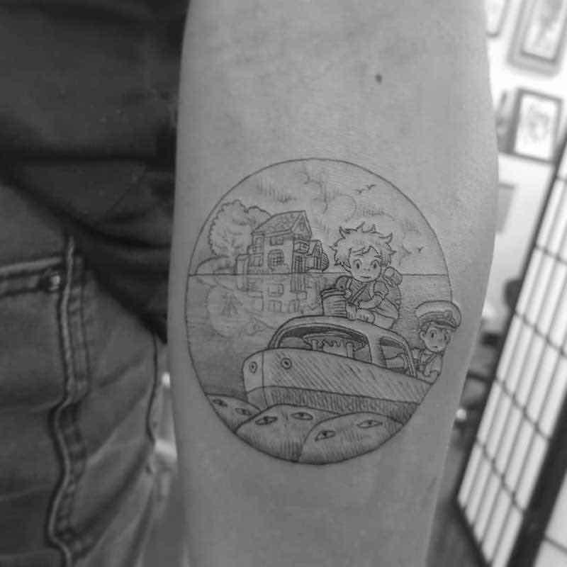 Ponyo Tattoo by Alexandyr Valentine