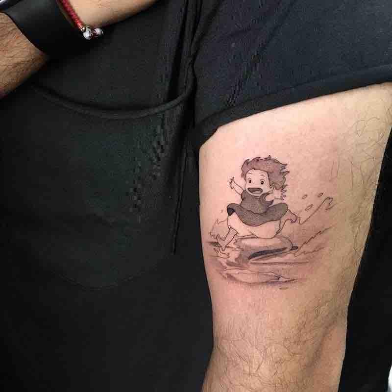 Ponyo Tattoo by Lesheer