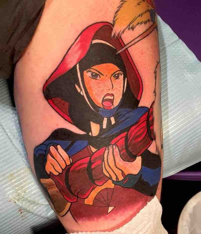 Princess Mononoke Tattoo Kimberly Wall