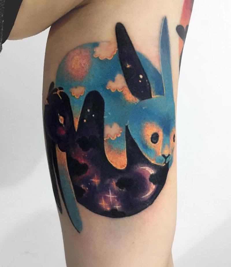 Rabbit Tattoo by Giena Todryk