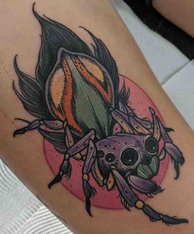 Spider Tattoo 2 by Dean Kalcoff