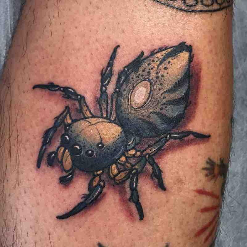 Spider Tattoo 3 by Dean Kalcoff