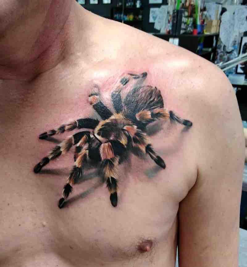 Spider Tattoo by Alexander Voron
