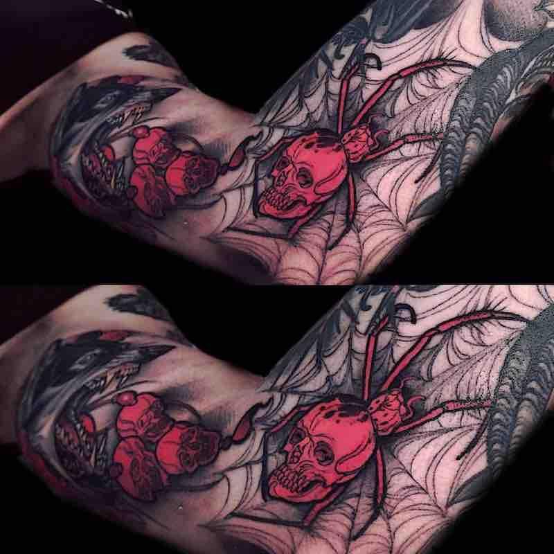 Spider Tattoo by Brando Chiesa