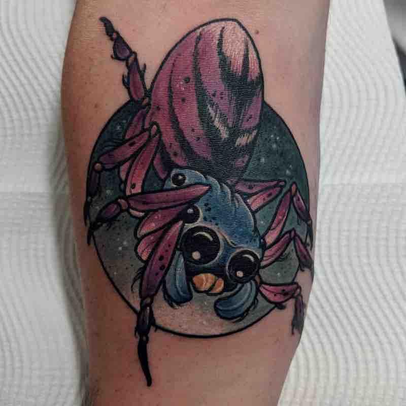 Spider Tattoo by Dean Kalcoff