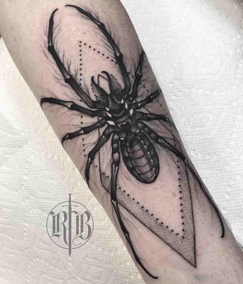 Spider Tattoo by RB Tattoo
