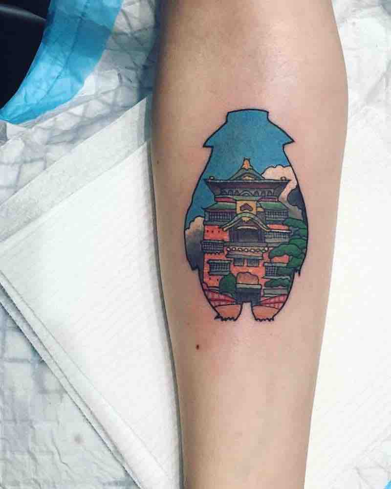 Spirited Away Tattoo 4 by Lauren Winzer
