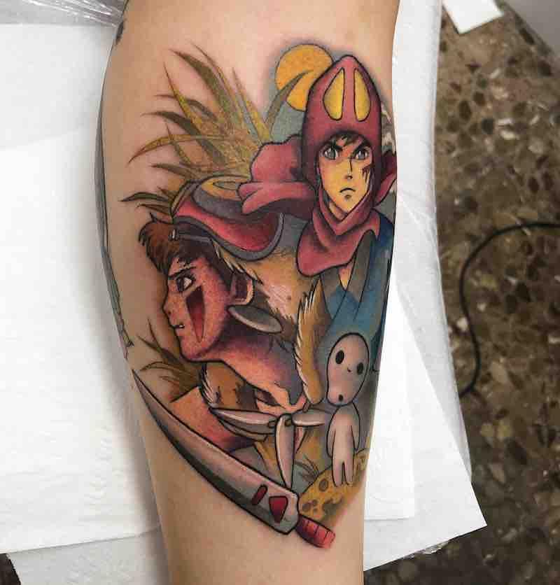 Studio Ghibli Tattoo 3 by Enrik Gispert