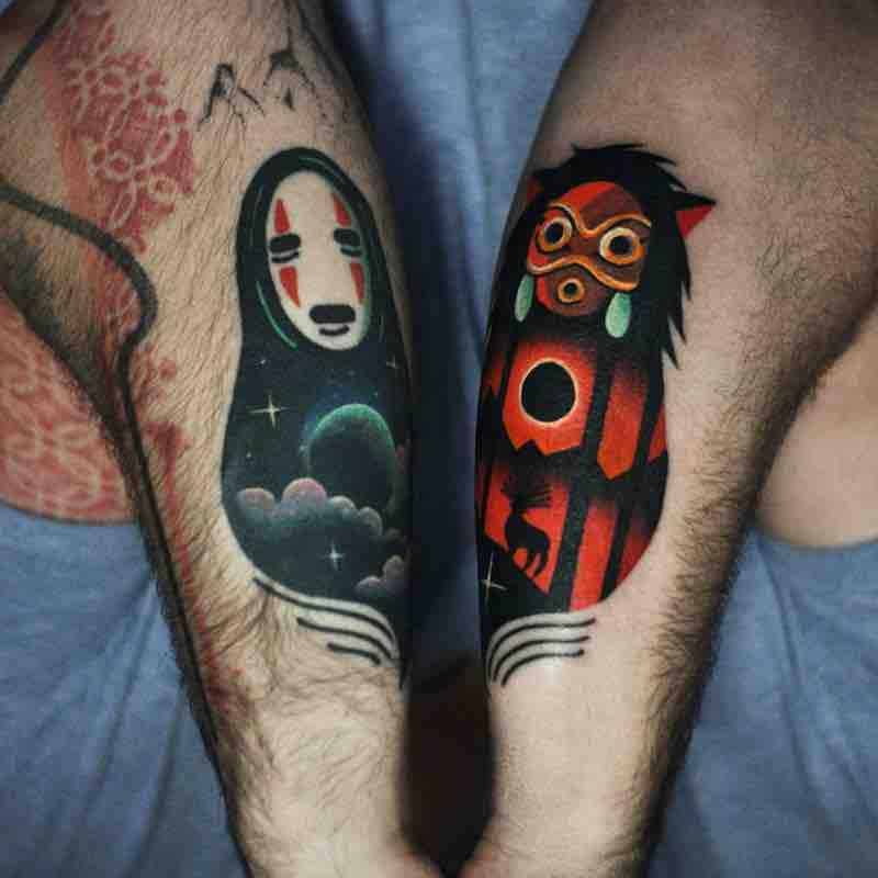 Studio Ghibli Tattoo by David Peyote