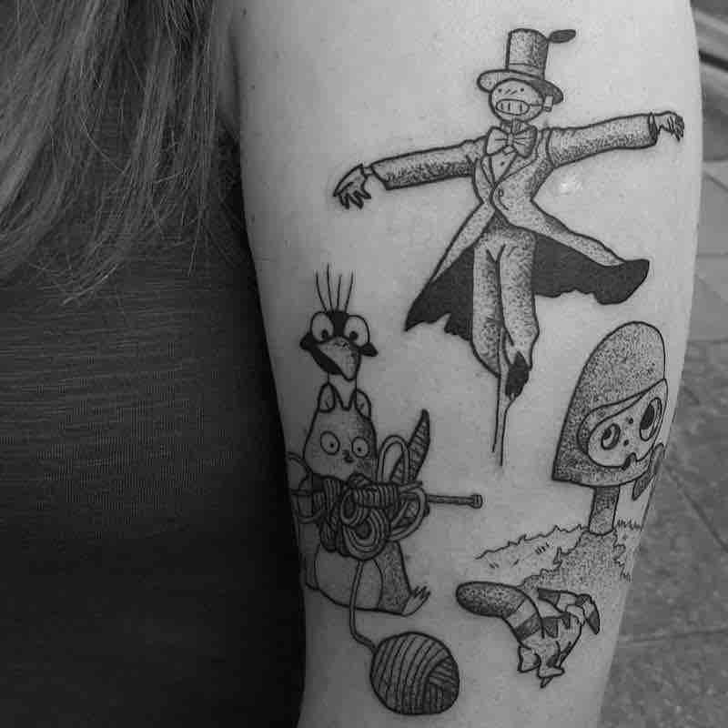 Studio Ghibli Tattoo by Jess Oxley