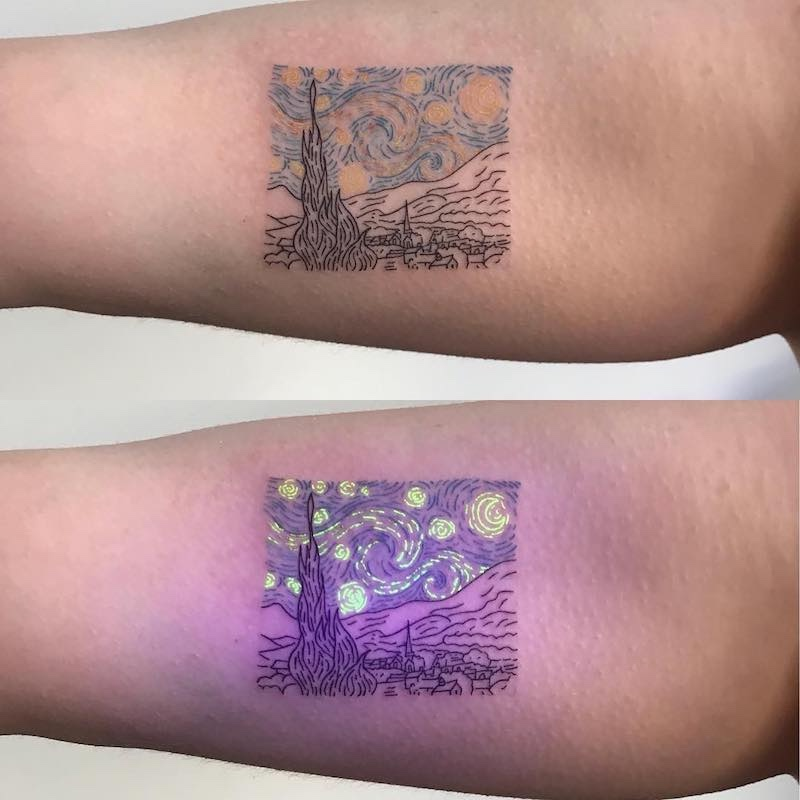 The Starry Night Tattoo by Tukoi