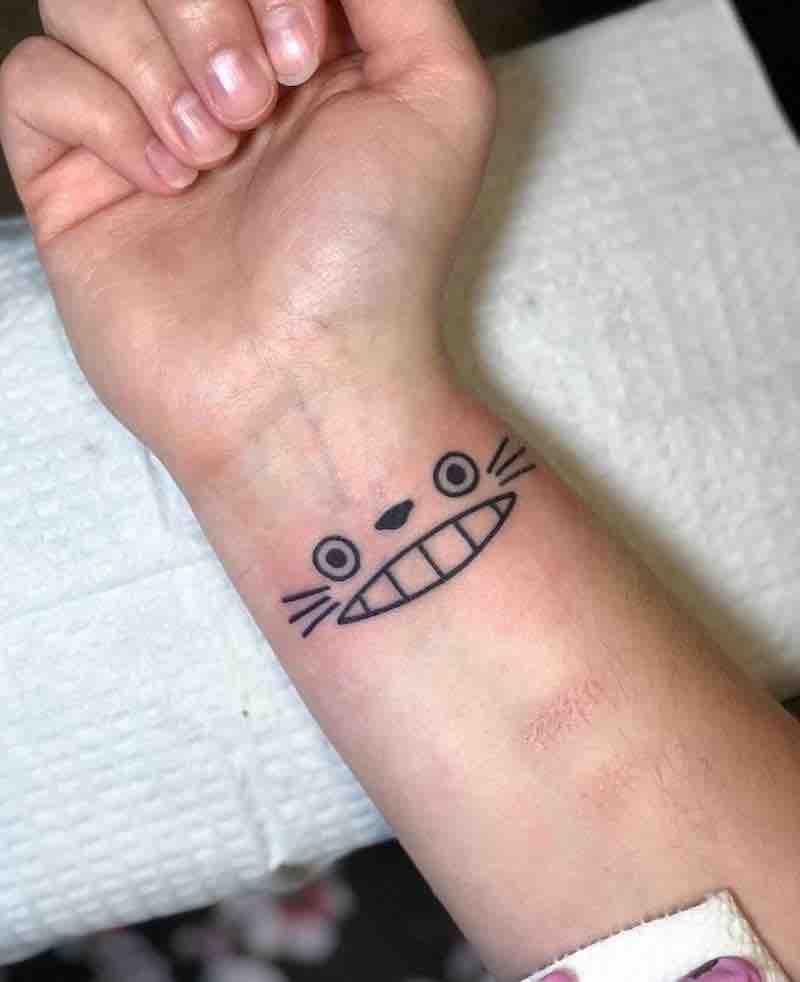 Totoro Tattoo 2 by Kimberly Wall