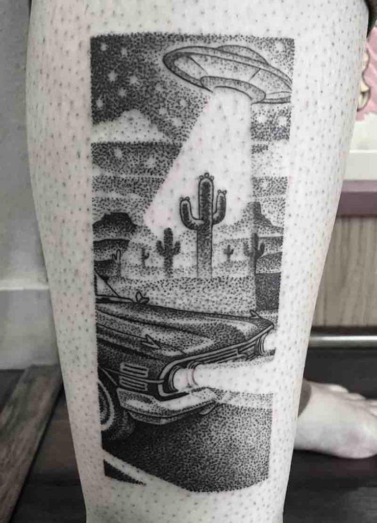 UFO Tattoo by Eli