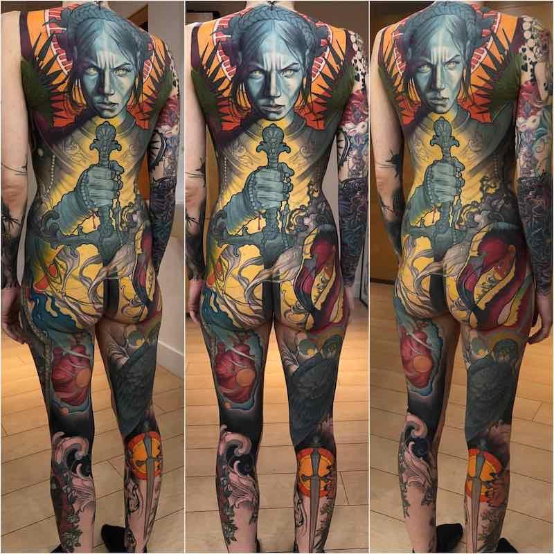 68 Best Back Tattoos - Tattoo Insider