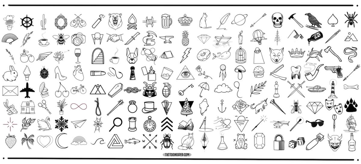 160 Original Small Tattoo Designs