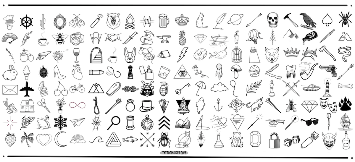 Small Tattoo Design Flash