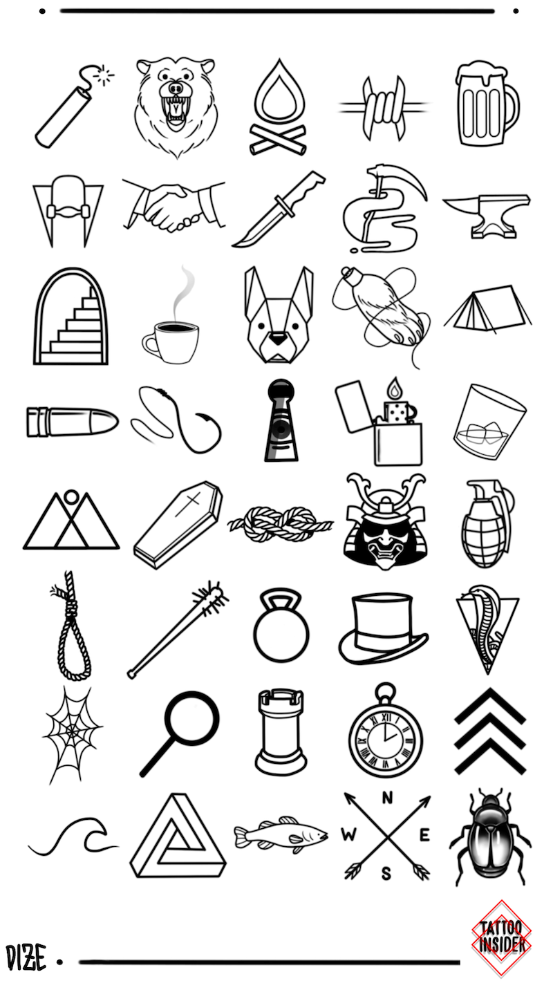Small Tattoo Designs for Men