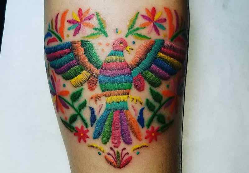 Embroidery Tattoo c by Rogelio Vazquez