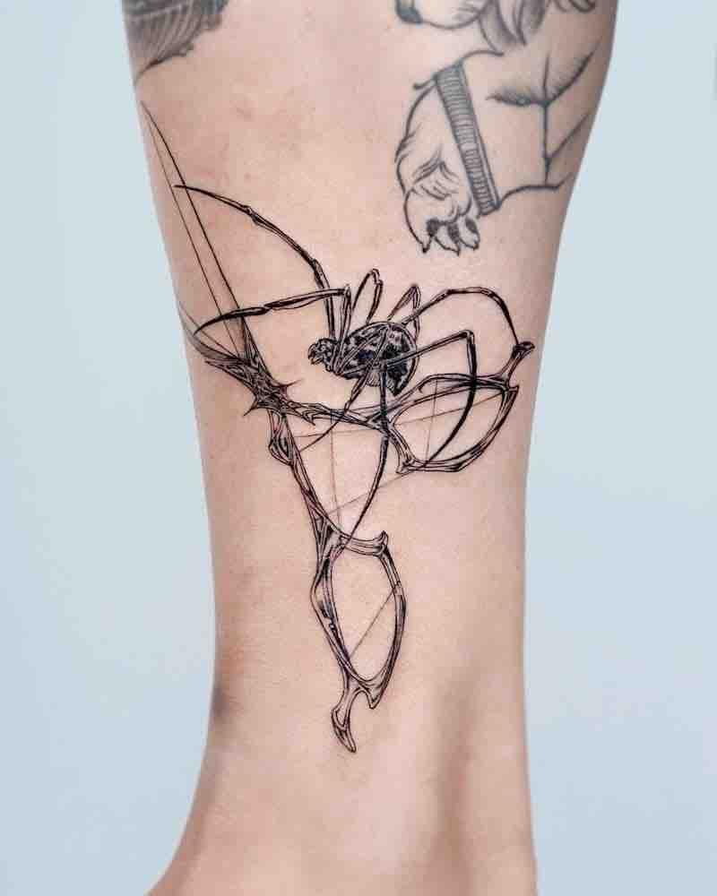 Scissors Tattoo by Bium Tattoo