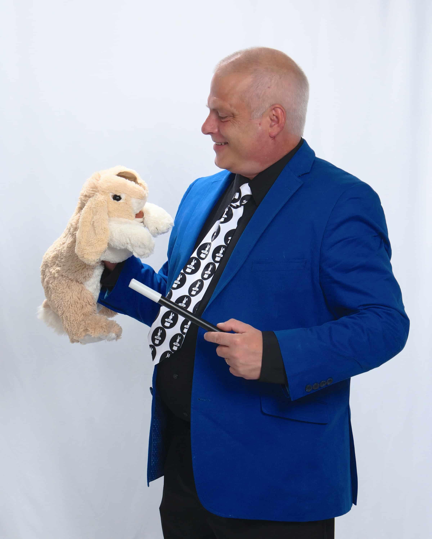 Rick DZ & Rabbit Puppet