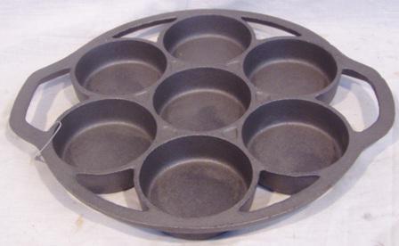 10492C 7 HOLE DROP BISCUIT PAN B