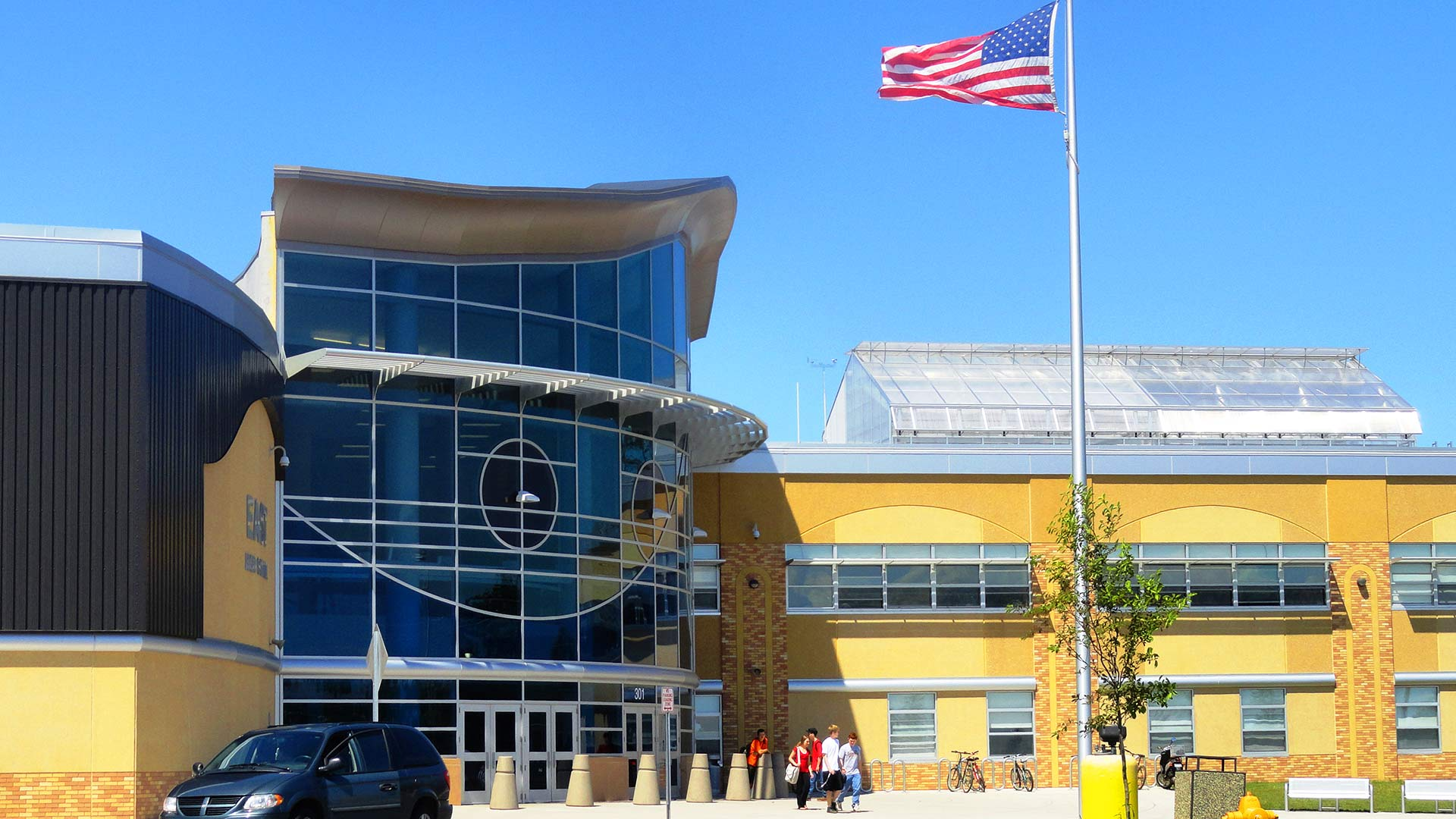 hu construction projects Rosemount High School