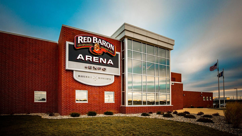 hu construction marshall ice arena