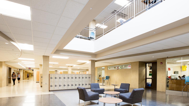 hu construction projects Burnsville High School