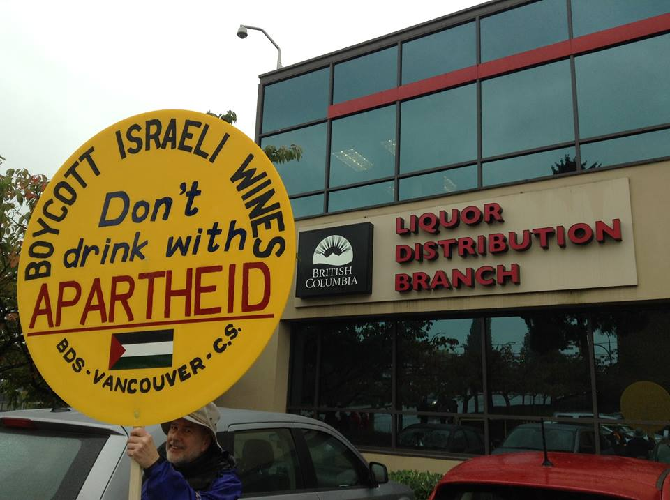 BC Attorney General: Still stonewalling on illegal Israeli wines in BC stores