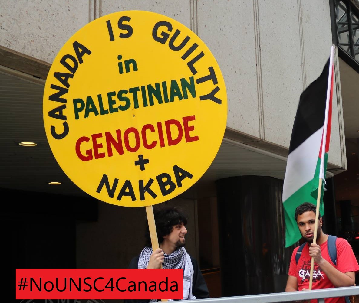 Canada's anti-Palestinianism on display again at UN
