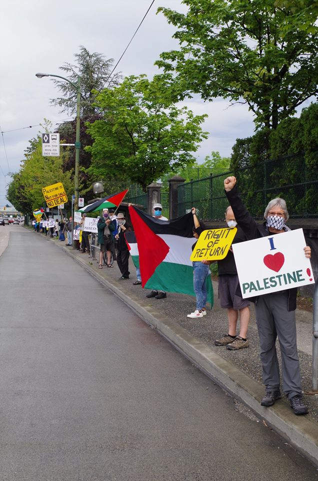 Vancouver support for Palestine
