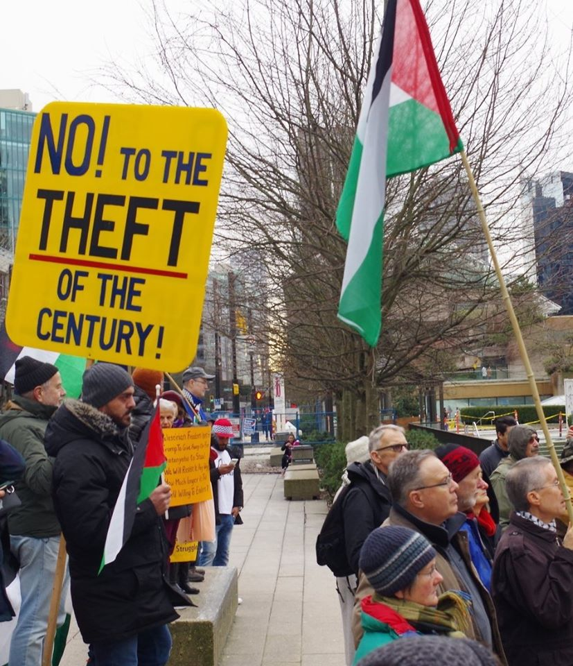 Flash Picket: NO Israeli Annexation, Free Palestine