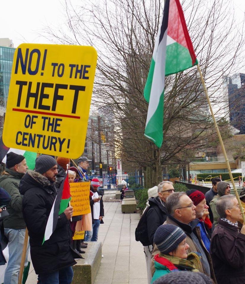 Flash Picket: NO Israeli Annexation, Free Palestine