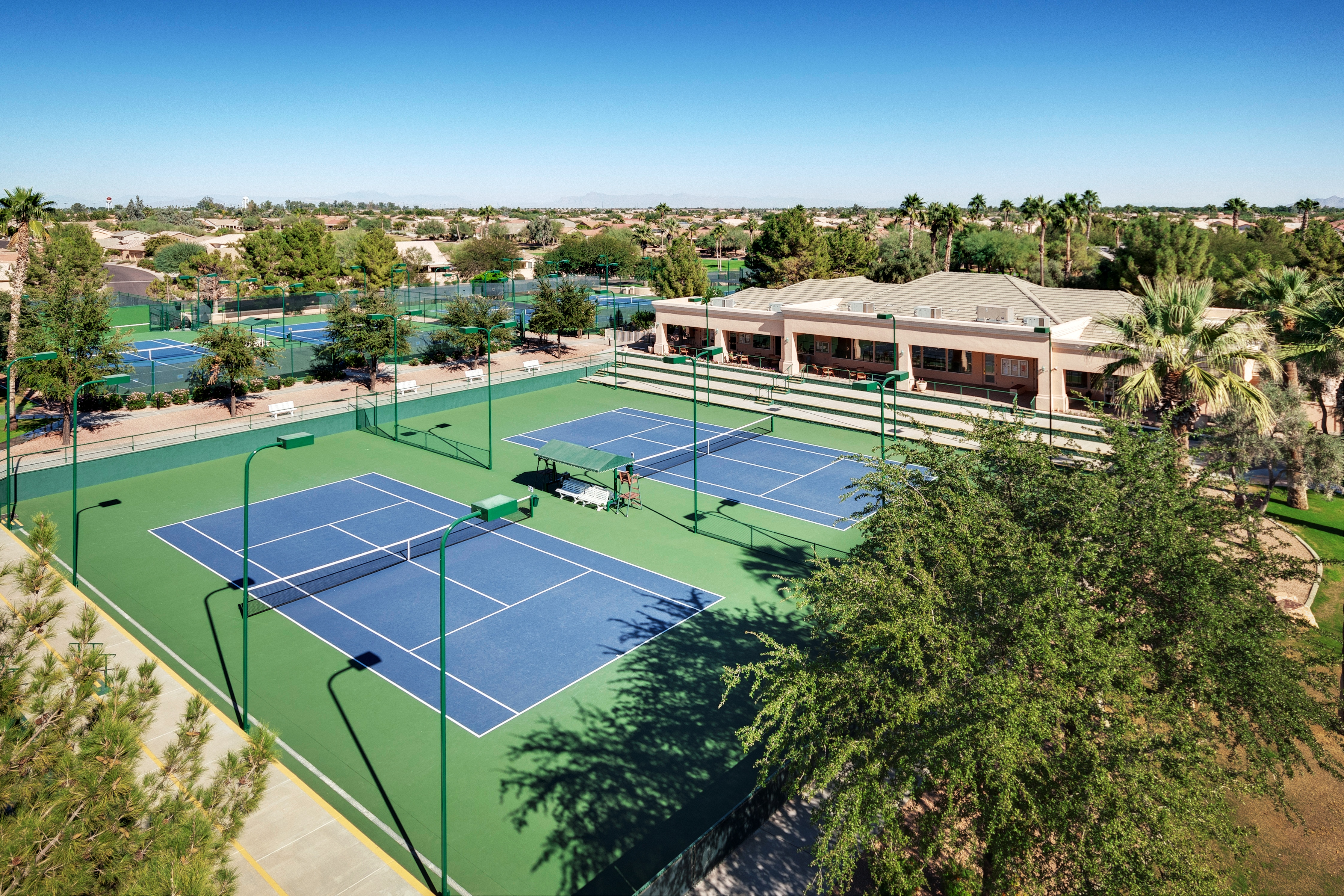 10 Multiple Tennis Courts