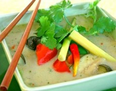 15. Green curry