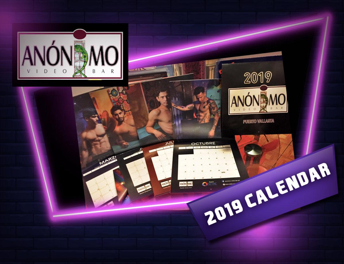 Calendar promo at Anonimo PV