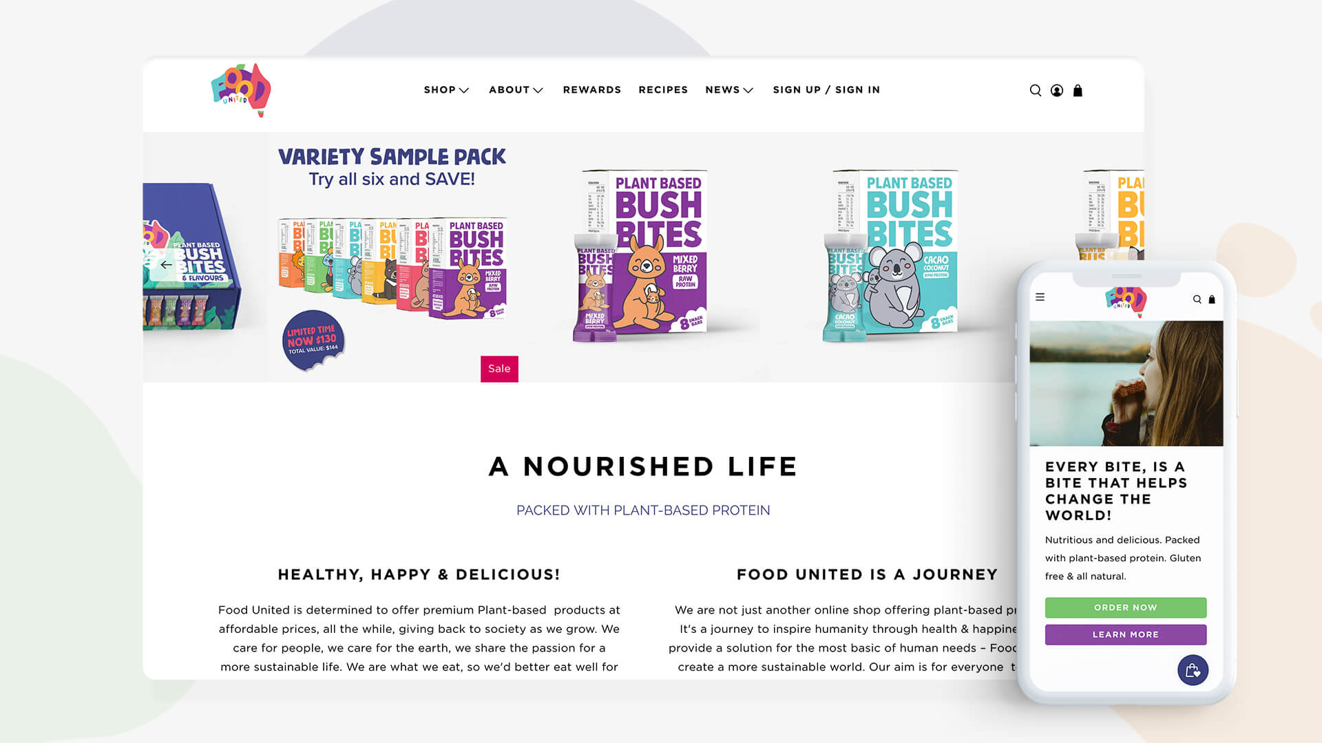 Marketing and Design Agency - Poloko - Northern Beaches - Food United