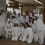 2009 Group dressed for salt mine