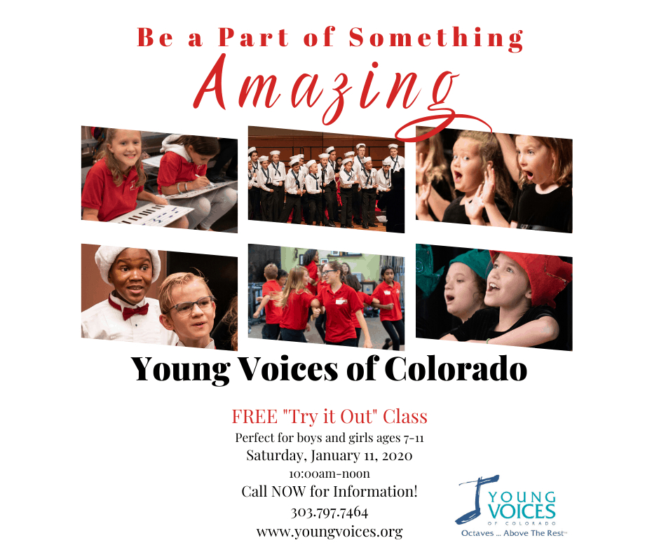 """Free """"Try It Out"""" Choir Class"""