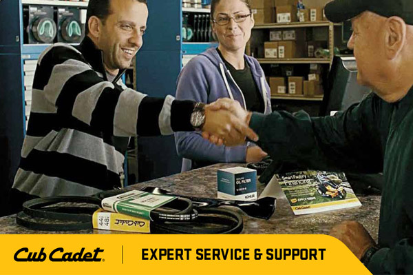 Genuine Cub Cadet parts and service in Leland and Wilmington Geocode: @34.2153851,-78.0160862