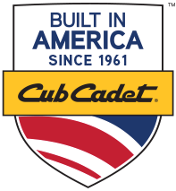 Cub Cadet riding mowers are BUILT IN AMERICA