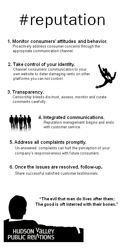 #reputation Infographic