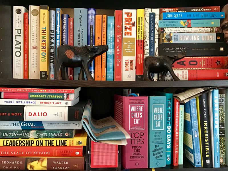 Omari Home Bookshelf Photo